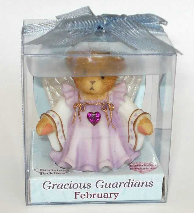 Cherished Teddies GRACIOUS GUARDIANS FEBRUARY -