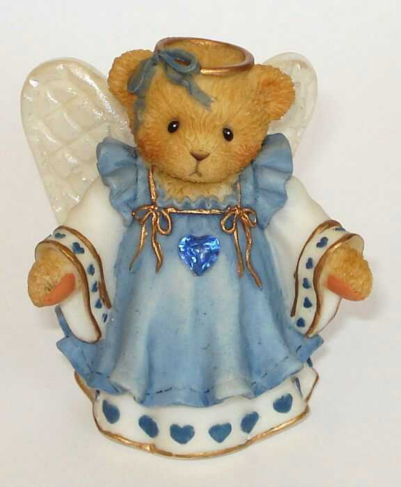 Cherished Teddies GRACIOUS GUARDIANS SEPTEMBER -