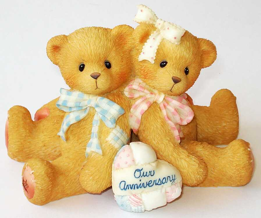 Cherished Teddies YOU GROW MORE DEAR WITH EACH PASSING YEAR -