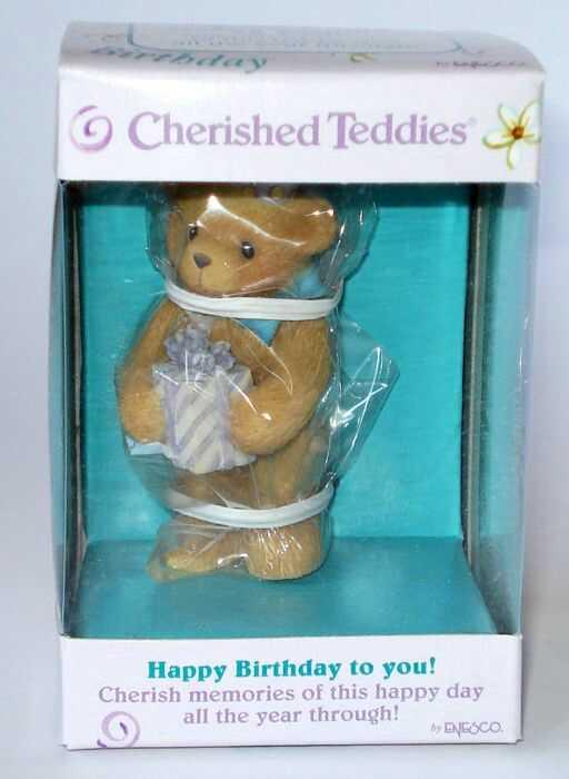 heidi s cherished teddies galerie happy birthday to you. Black Bedroom Furniture Sets. Home Design Ideas