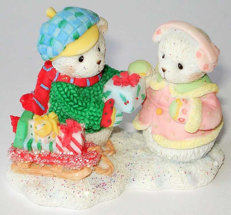 Cherished Teddies Hamilton Snowfall of Friendship 4 th -
