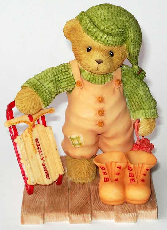 Cherished Teddies HERBERT -
