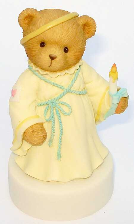 Cherished Teddies Memorial Angel  -  Abbey Press -
