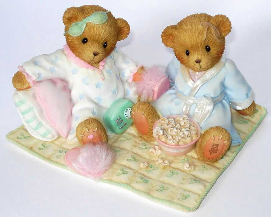 Cherished Teddies JACIE and LISSA -