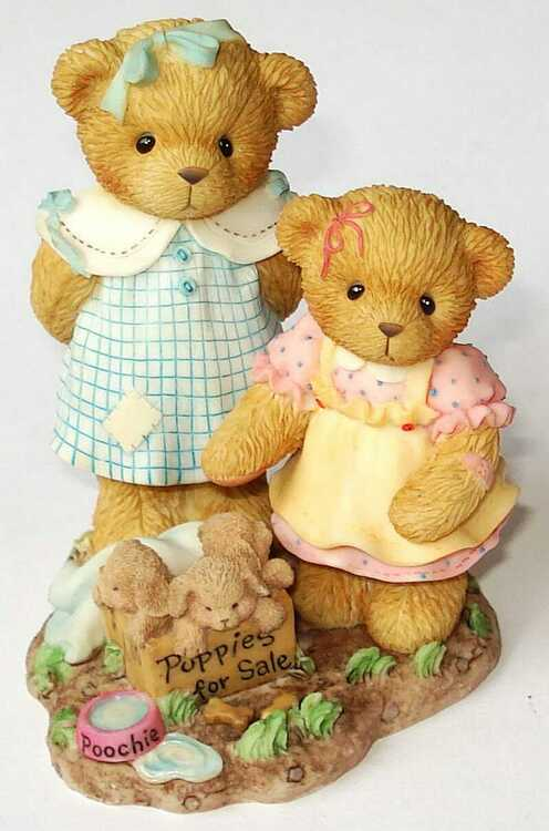Cherished Teddies JO and DEE - CARLTON CARDS -