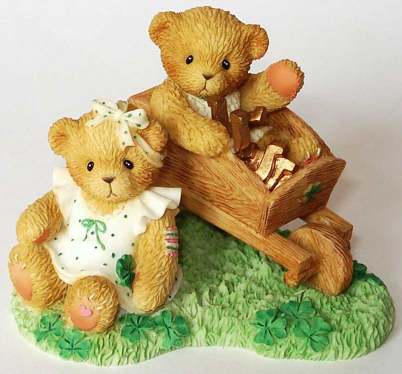 Cherished Teddies Hamilton Exclusive - 4th In The IRISH LUCK O' THE TEDDIES SERIES -