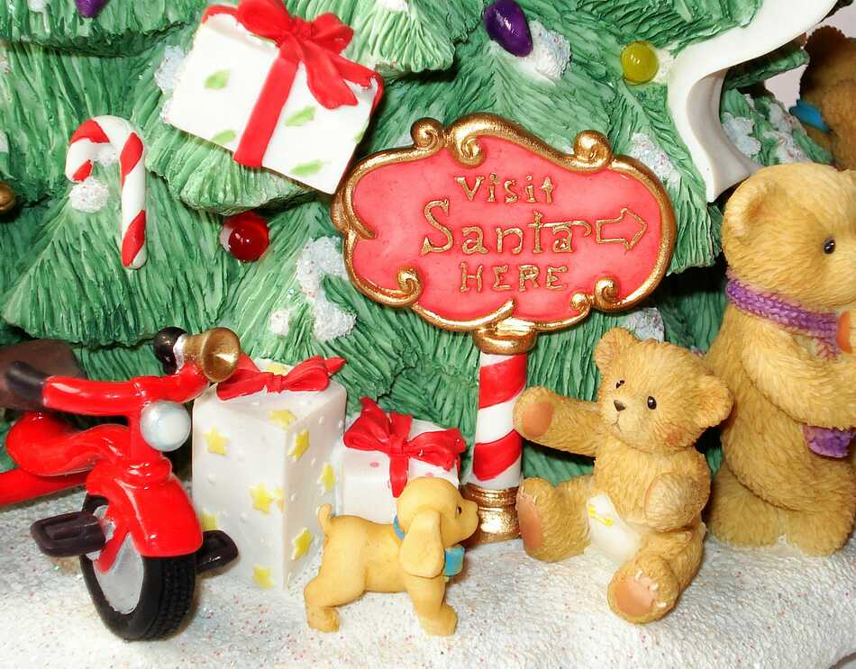 Heidi s cherished teddies galerie merry christmas tree for Merry christmas bilder