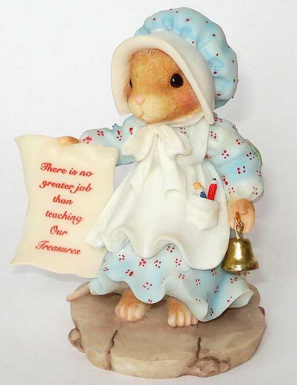 Cherished Teddies PRISCILLA HILLMANN MOUSE TALES -