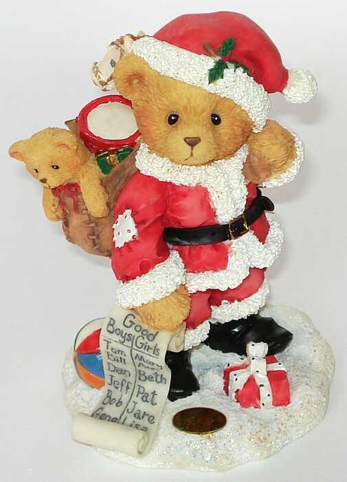 Cherished Teddies NICKOLAS - 1. Santa -