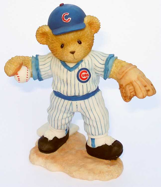 Cherished Teddies RYNE SANDBERG  -  4th In The Series Of Chicago Cubs -