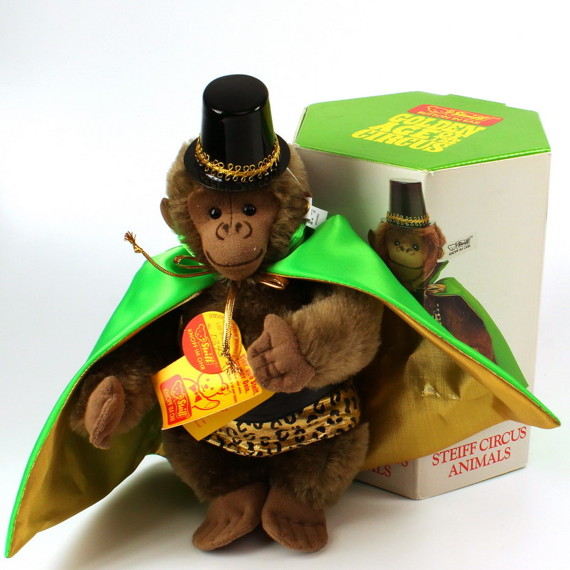 STEIFF - Golden Age Of Circus - Animals - Stron Man Gorilla (650482)