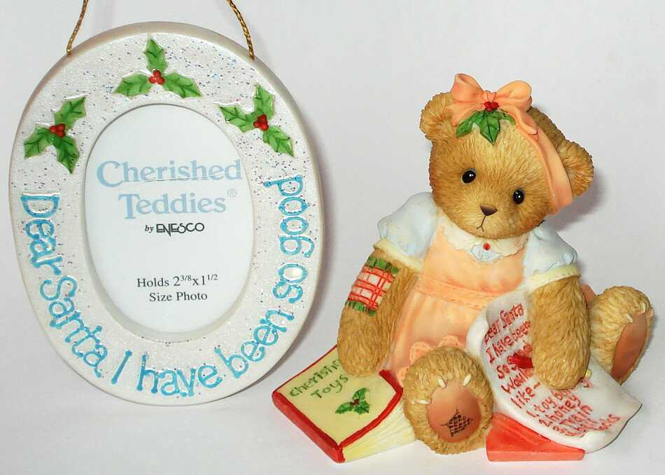 Cherished Teddies DEAR SANTA GIRL -