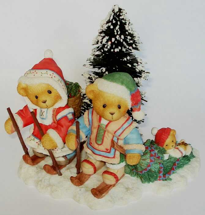 Cherished Teddies SEGRID, JUSTAF and INGMAR -