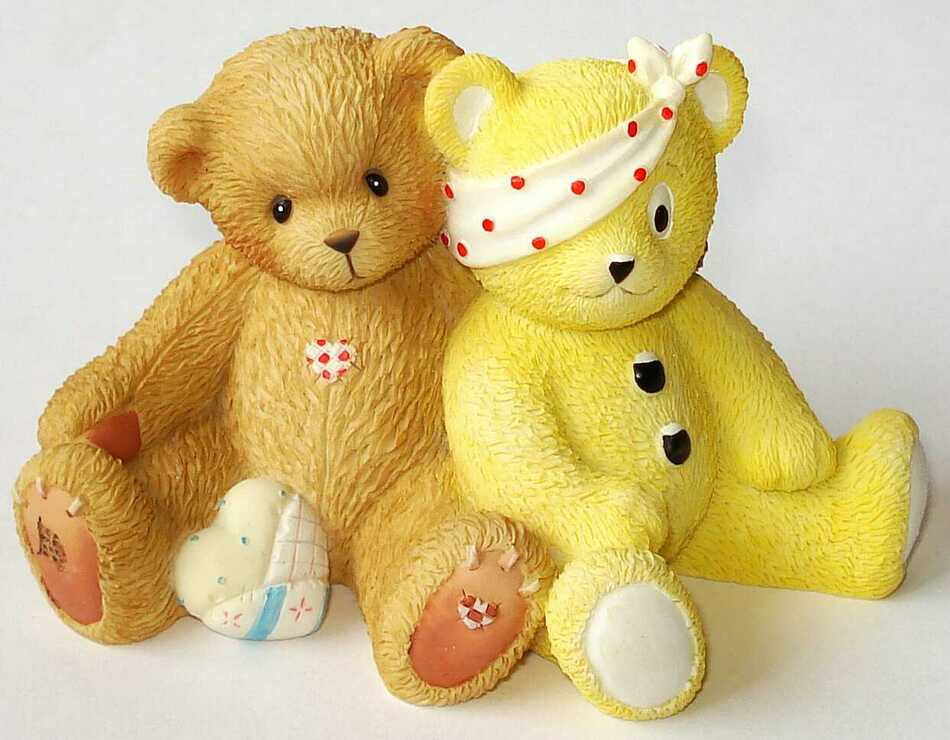 Cherished Teddies TERRY and PUDSEY -