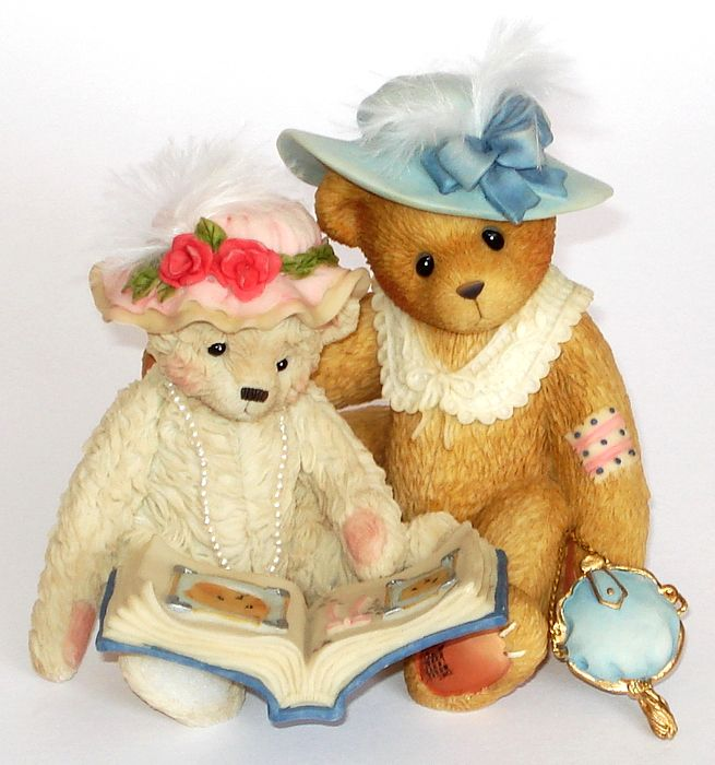 Cherished Teddies TESS and FRIEND -