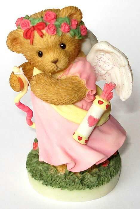 Cherished Teddies VALENTINE Angel - Abbey Press -