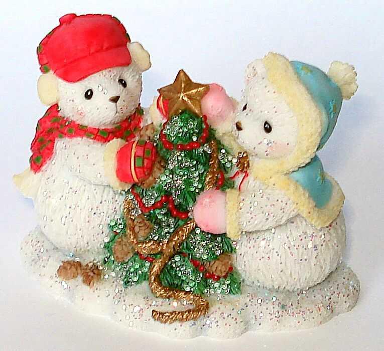 Cherished Teddies Hamilton Snowfall of Friendship 3rd -